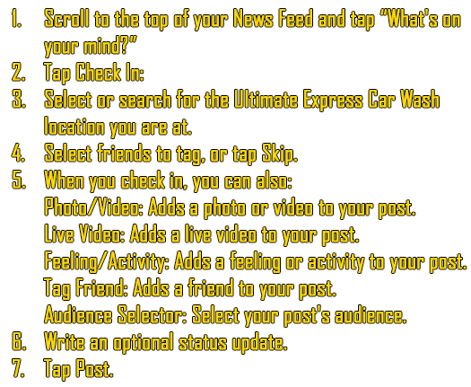 1. Scroll to the top of your News