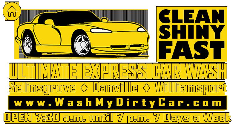Ultimate Express Car Wash - Selinsgrove, Williamsport and Danville's Ultimate Express Car Wash